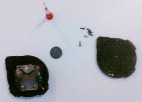 Components of the device, and the tool used to disable it