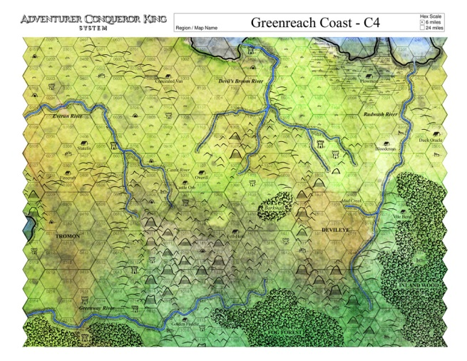 Hexomancy Making The Perfect Maps For Adventurer